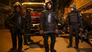 Security crackdown intensified in Egypt as Arab Spring anniversary approaches