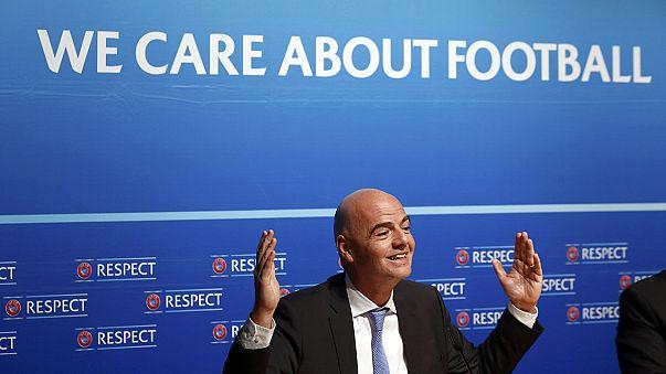 """Джанни Инфантино: """"выборов президента УЕФА пока не будет"""""""