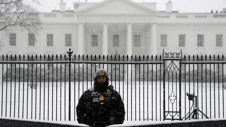 Снежная буря на востоке США