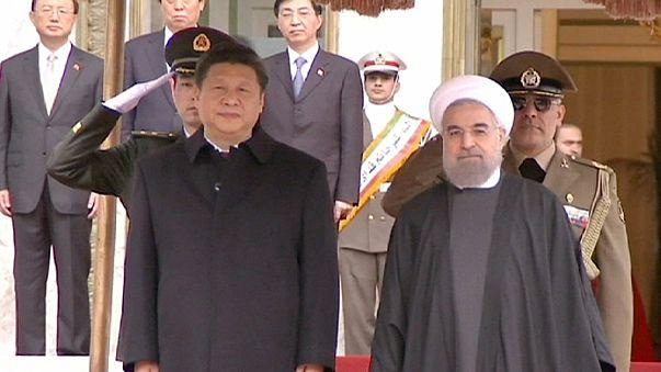 """China e Irão na """"rota da seda"""" após fim das sanções"""