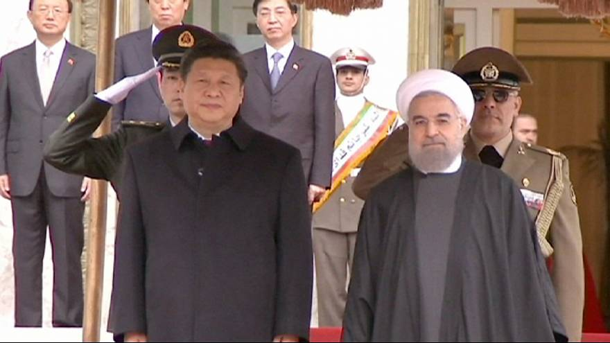 "China hails a ""new season"" in relations with Iran"