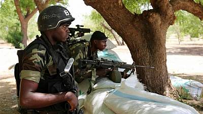 Cameroon receive tactical war equipment from France