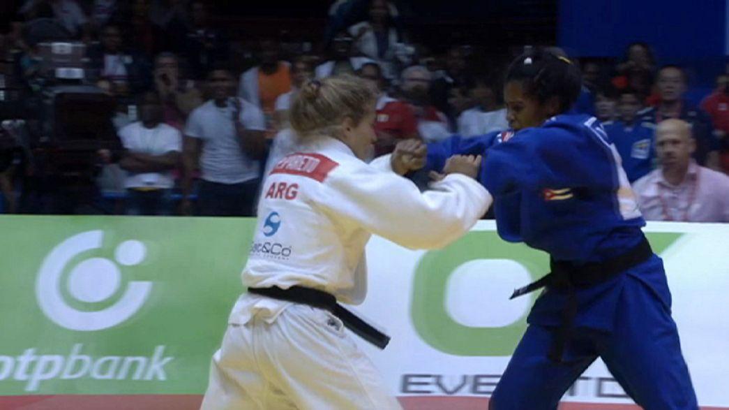Judo: Brasil domina 1.º dia em Havana