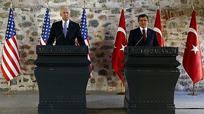 USA und Türkei für Militäroffensive gegen IS-Dschihadisten in Syrien