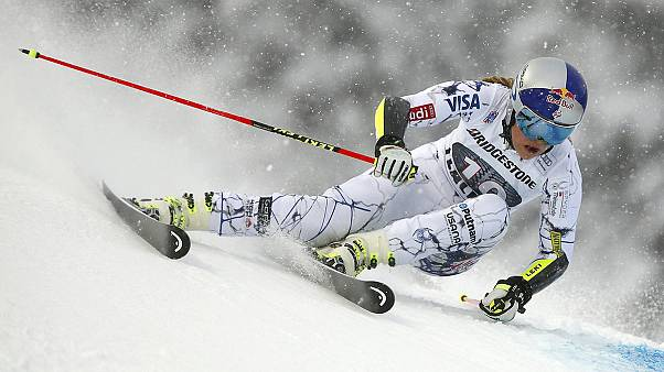 Lindsey Vonn breaks Annemarie Moser-Proell's record in Cortina