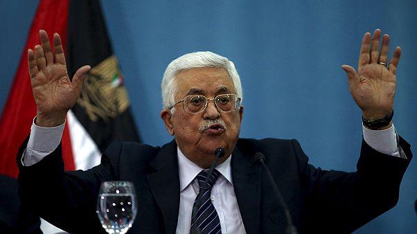 Késes merényletek: a palesztin elnök elítélte az erőszakot