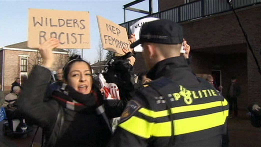 Niederländischer Politiker verteilt Anti-Migranten-Spray