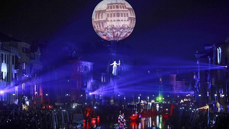 Venice carnival opens in burst of light