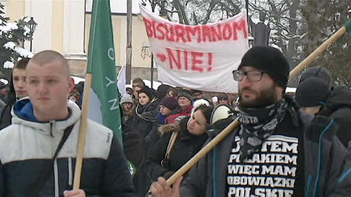 Image result for польша против беженцев