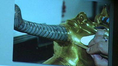 Egipto: 8 inculpados por dañar la máscara de Tutankhamon