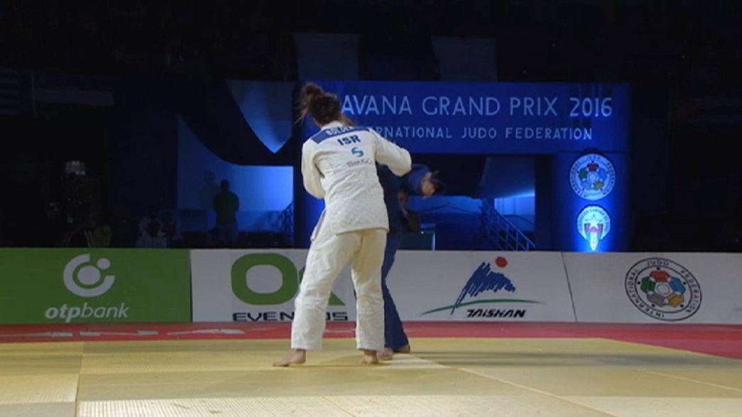 Israel vuelve con fuerza en la seguna jornada del Gran Premio de La Habana de judo