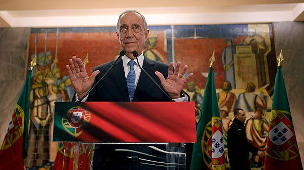 Portugal: Liberal-konservativer Kandidat Rebelo de Sousa im ersten Wahlgang zum Präsidenten gewählt
