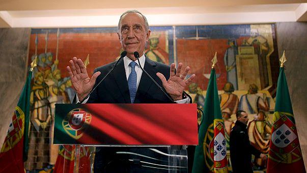 Portugal: El conservador Rebelo de Sousa, elegido presidente en la primera vuelta
