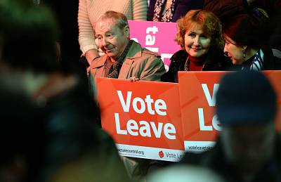 """Vote Leave"" was the official campaign organisation for Brexit."
