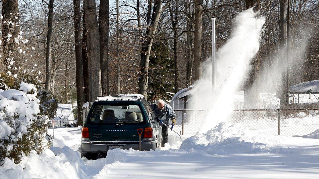 "Blizzard ""Snowzilla""  - Washington D.C. bleibt lahmgelegt"