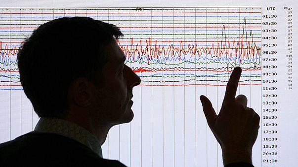 Un terremoto en el mar de Alborán sacude varios pueblos andaluces