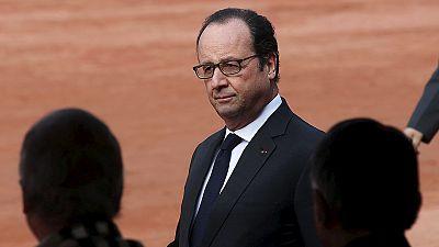 """""""Aucune menace ne fera douter la France"""", affirme François Hollande"""