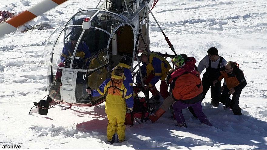 Schock nach Skiunfall: Bei 100km/h zusammengeprallt?