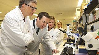 Bill Gates and UK pledge $4 billion to fight malaria