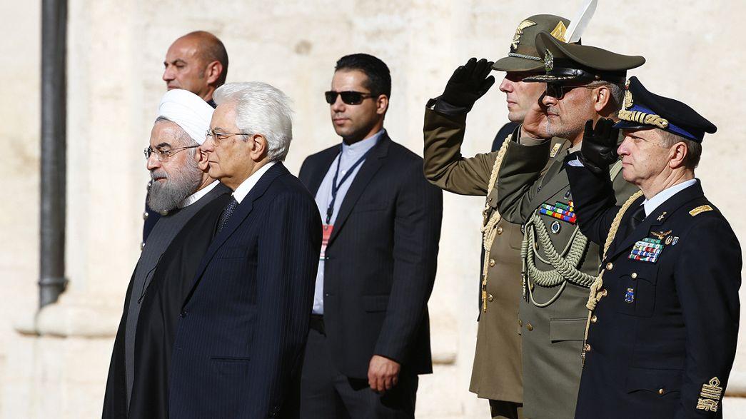 Symbolträchtige Europareise: Iranischer Präsident Ruhani besucht Italien und Frankreich