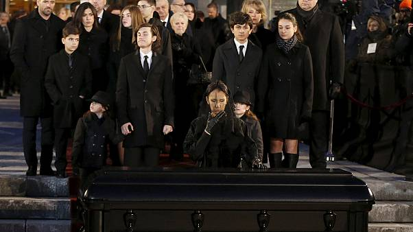 'National' funeral for Celine Dion's husband 'over the top'