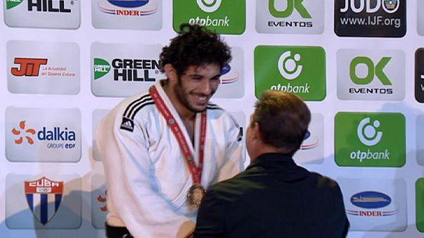 Judo-GP in Kuba: Späte Erfolge für den Gastgeber