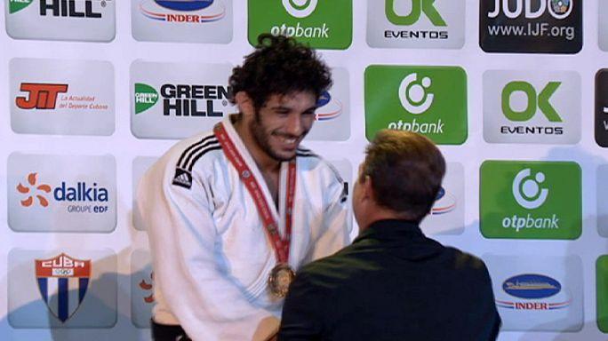 Judo: Kübalı judokalar sonunda altına kavuştu