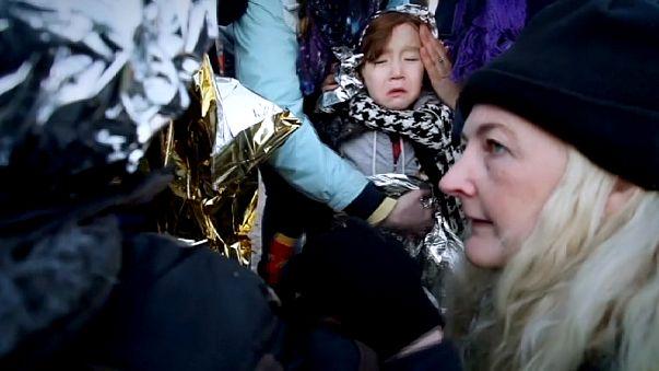 Греция: беженцы продолжают штурмовать Лесбос