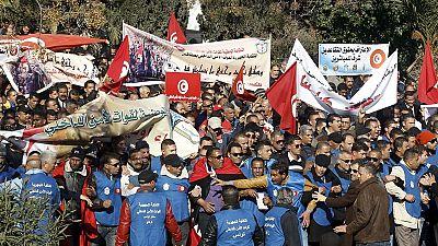 Tunisie : des policiers dans la rue pour des causes salariales