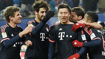 Bayern Munich begin 2016 with win as Bundesliga returns