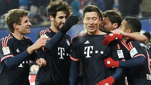 Bayern Munich begin 2016 with win as Bundesliga returns