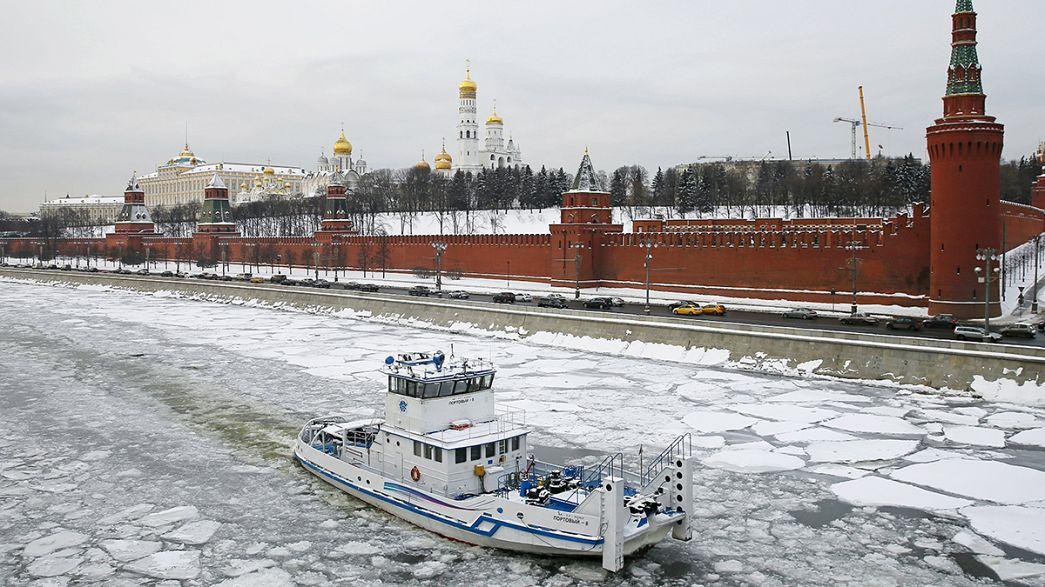 Economia russa recua 3,7% em 2015
