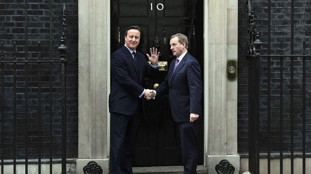 Великобритания выходит — Ирландия страдает