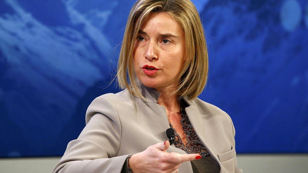 Mogherini rassicura Turchia su stanziamento 3 miliardi per crisi migratoria