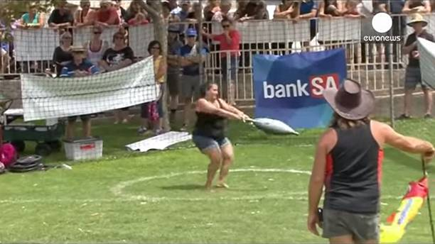 World tuna throwing championships