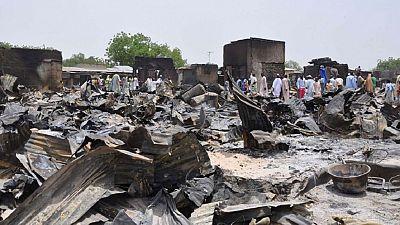 Cameroon market bomb attack victims get help