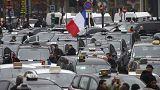 Streiktag in Frankreich: Taxifahrer, Fluglotsen, Lehrer und andere