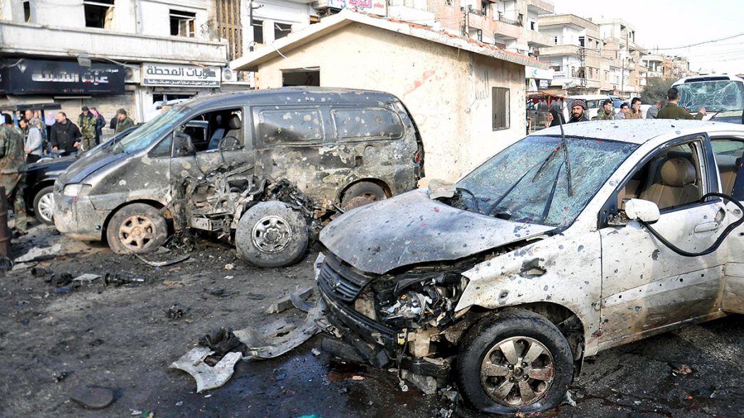Síria: Duplo atentado mata mais de duas dezenas de pessoas