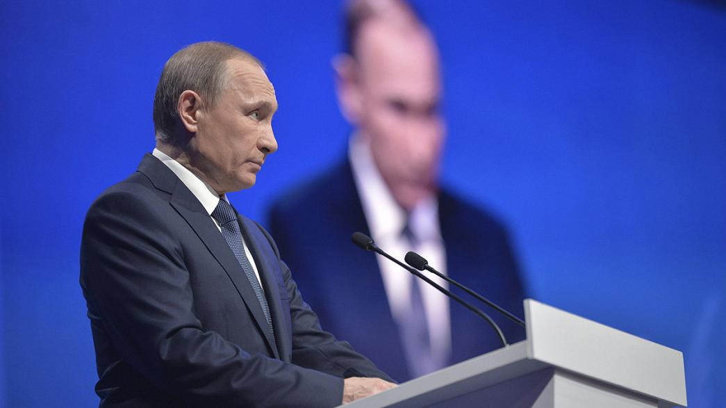 Vladimir Putin 'a picture of corruption', says US Treasury official