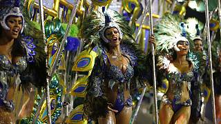In Rio de Janeiro geht die Post ab