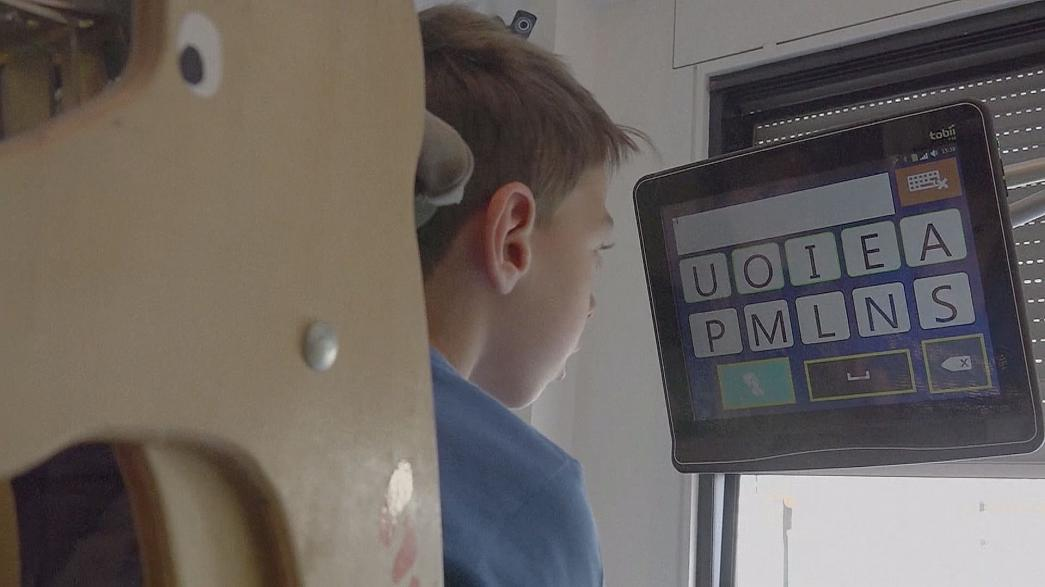 Eye-tracking to empower disabled children