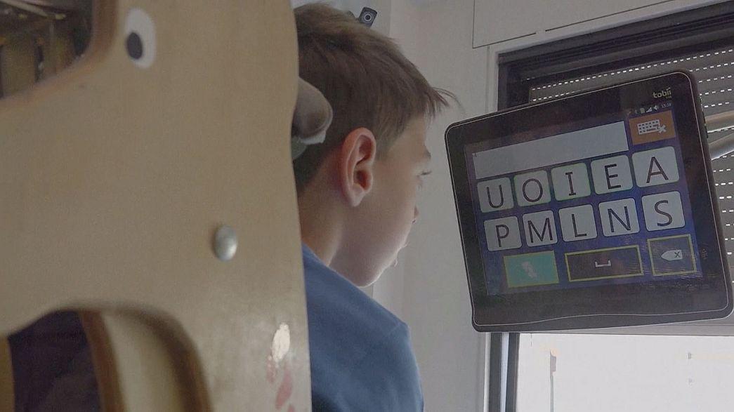 Eye-Tracking - Augensteuerung gibt behinderten Kindern mehr Autonomie