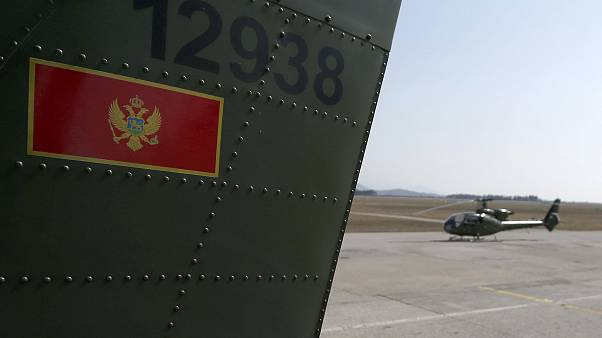 Image: Montenegrin army helicopters