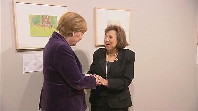 German Chancellor Angela Merkel opens Holocaust exhibition in Berlin