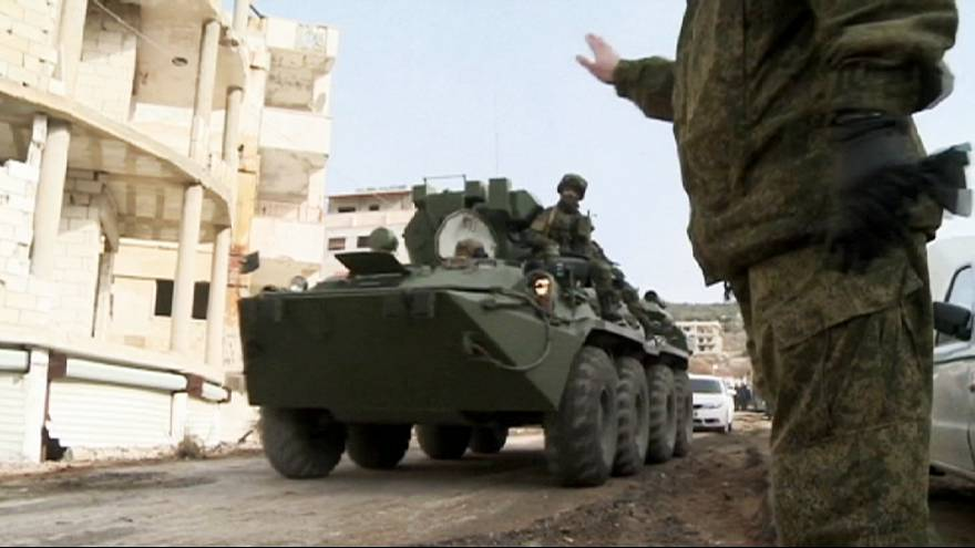 Сирия: карта недавних боев
