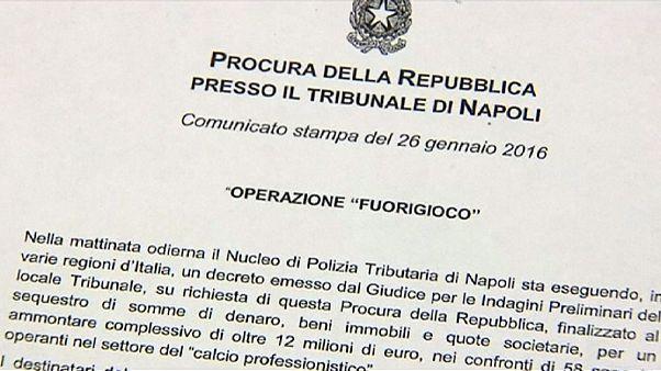 Adócsalási botrány az olasz futballban
