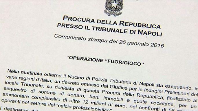 İtalya futbolunda vergi kaçakcılığı depremi