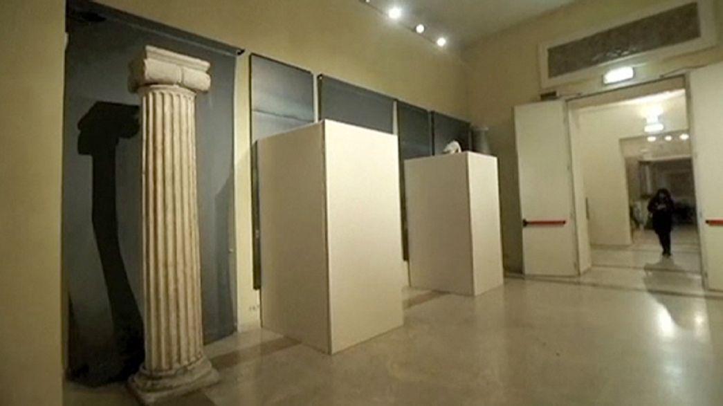 Rücksicht auf Rohani: Nacktstatuen in Rom verhüllt
