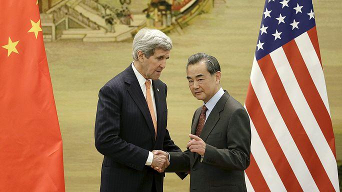 """كيري يقول إن كوريا الشمالية تشكل """"تهديدا كبيرا للعالم """""""