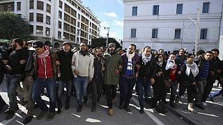 Anger mounts in Tunisia with demonstrations against unemployment